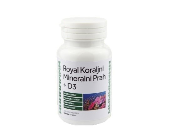 Royal koralni, mineralni prašek +D3 - Vila zdravja