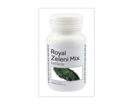 Royal zeleni mix s spirulino, klorelo in mladim ječmenom - Vila zdravja - Frekvenca d. o. o.
